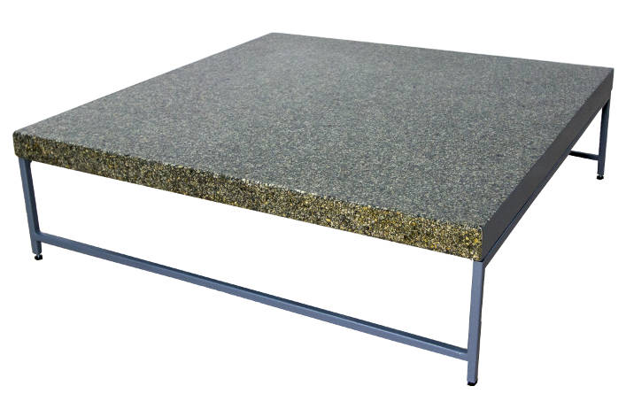 Exclusive Minimalist Coffee Table Stone Flakes
